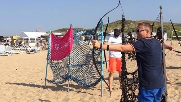 archery tag Scheveningen