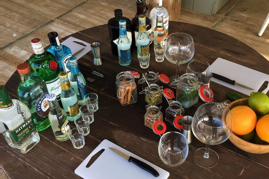 Gin tonic workshop Scheveningen
