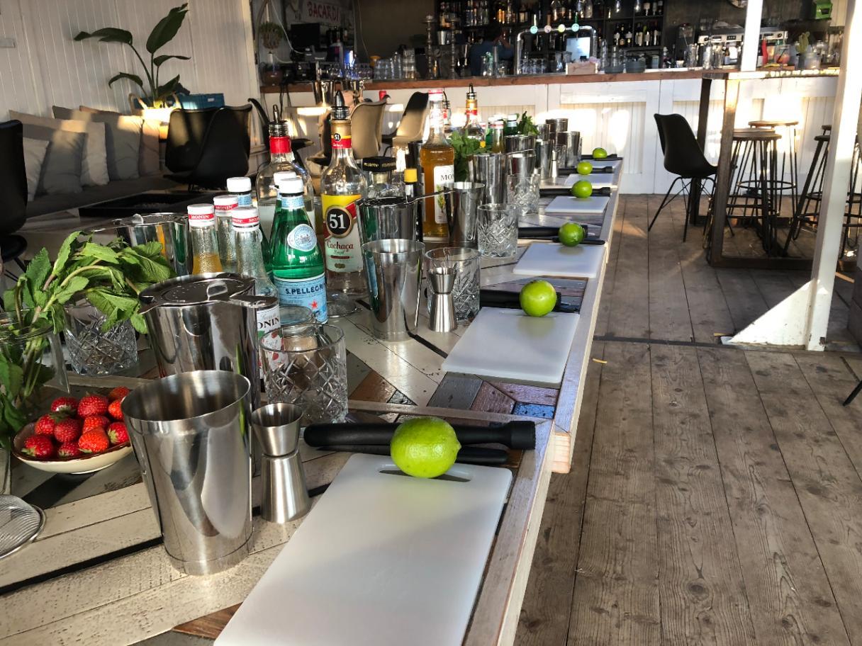 Cocktail workshop in Scheveningen