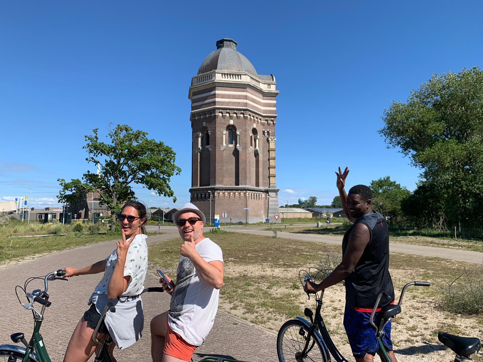 Tandem tour en fietstocht scheveningen